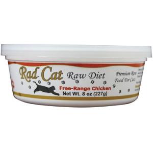 Rad CatFree-Range Raw Chicken Cat Food 8 Oz.
