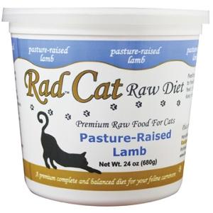Rad Cat Pasture-Raised Raw Lamb Cat Food 24 Oz.