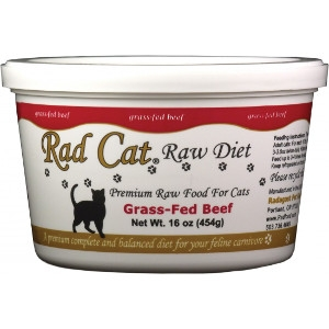 Rad Cat Grass-Fed Beef Raw Cat Food 16 Oz.