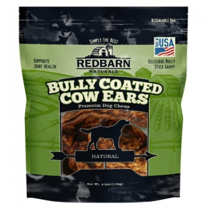 RedbarnBully Coated Cow Ears