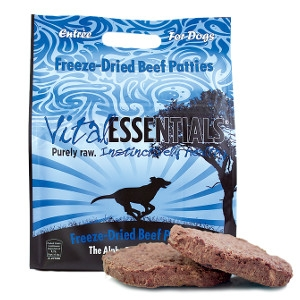 Vital Essentials Beef Freeze-Dried Patties