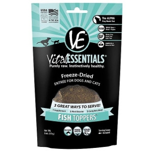 Vital Essentials Fish Freeze-Dried Toppers