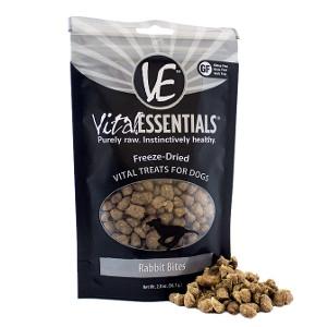 Vital Essentials Freeze-Dried Rabbit Bites Treats