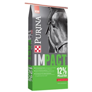 Purina Impact 12% Pelleted Horse Feed