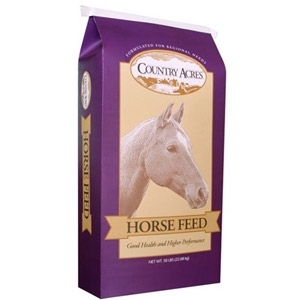 Country Acres 12% Pelleted Horse Feed