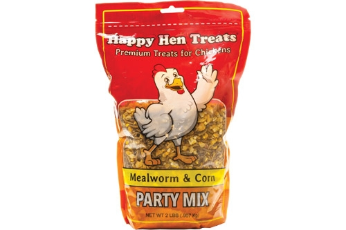 Happy Hen Party Mix, Mealwom and Corn