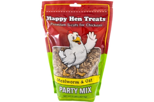 Happy Hen Party Mix, Mealworm and Oat
