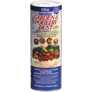 Y-Tex GardStar Garden and Poultry Dust, 2 pound shaker