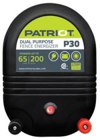 Patriot P30 Dual Purpose Electric Fence Energizer