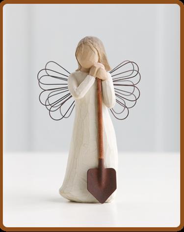 Willow Tree Angel of the Garden Figurine