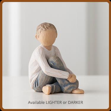 Willow Tree Caring Child Figurine