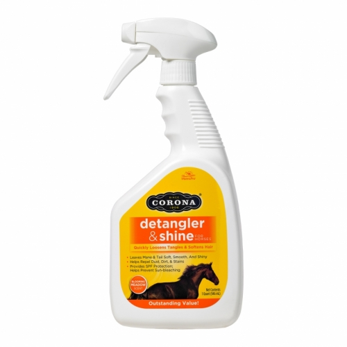 Corona Detangler & Shine, one quart