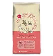 Muse Sailing with Salmon Dry Cat Food 1, 4 & 9 pound bags