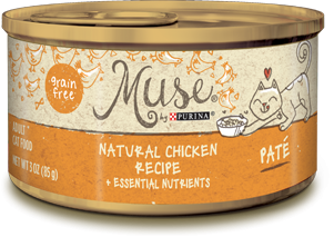 Muse Natural Chicken Recipe Pate, 3 ounce