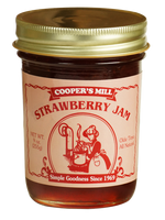 Cooper's Mill Strawberry Jam, 9 ounce jar
