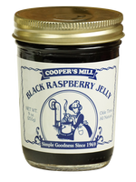 Cooper's Mill Black Raspberry Jelly, 9 ounce jar