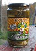 Frog Ranch All-Natural Zesty Bread & Butter Pickles, 16 ounce jar