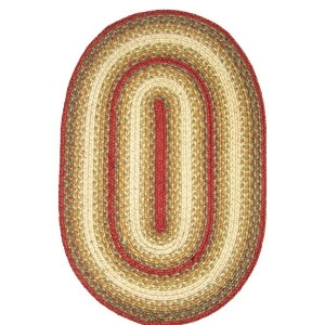 Homespice Jute Braid Oval Rugs