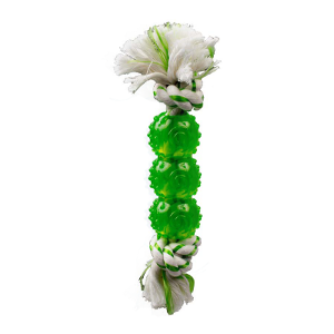 Canine Clean™ Spearmint Rope With 3 Balls