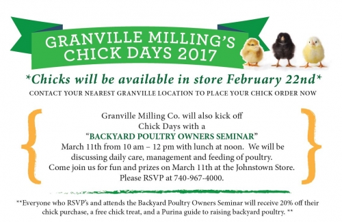 Backyard Poultry Owners Seminar