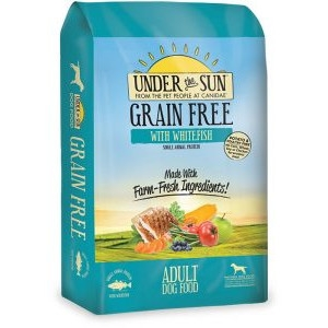 Under The Sun Grain Free Adult Dog Food With Whitefish