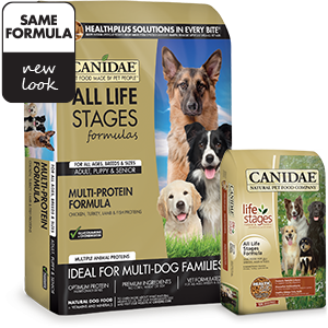 Canidae All Life Stages Chicken, Turkey, Lamb and Fish Meals Formula