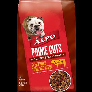 Alpo Prime Cuts Savory Beef Flavor Dog Food