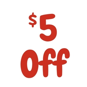 $5 Off $40 Or More Purchases!