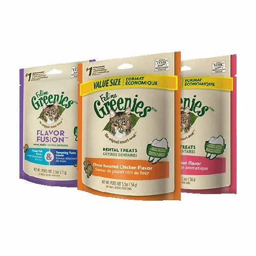 Save $2 on Greenies Cat Dental Treats 5.5 lb.