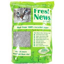 Fresh News Cat Litter 25 lb. now $12.99