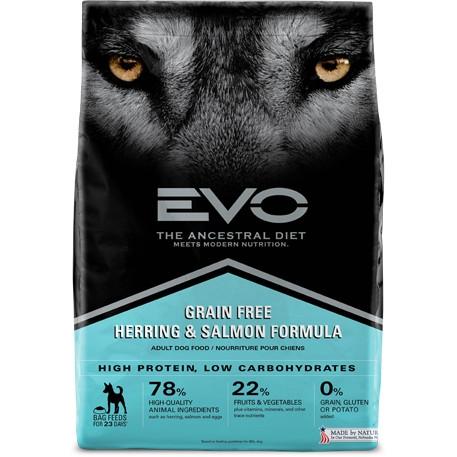 Save $10 on EVO Dog Food 26-30 lb. bags