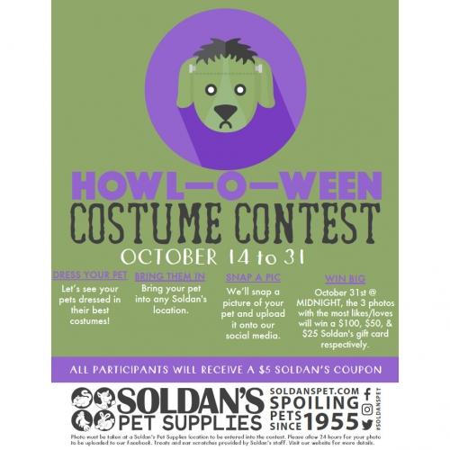 Soldan's Howl-O-Ween Costume Contest