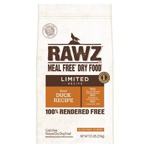 RAWZ Meal Free Limited Duck Recipe Dog Food