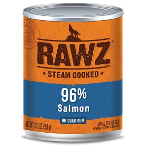 RAWZ Steam Cooked 96% Salmon Dog Food