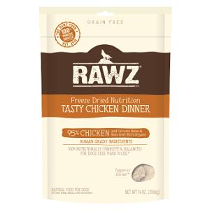 RAWZ Freeze Dried Chicken Recipe Dog Food