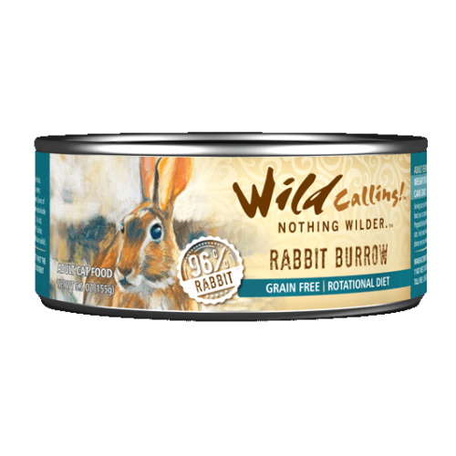 Rabbit Burrow® Canned Cat Food