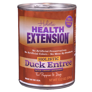 Health Extension Duck & Sweet Potato Entree Canned Dog Food