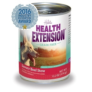 Health Extension Grain Free Savory Beef Stew Canned Dog Food