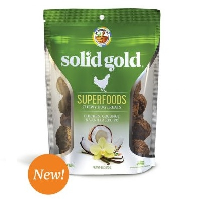 Buy 1 Get 1 50% Off Solid Gold Chewy Dog Treats
