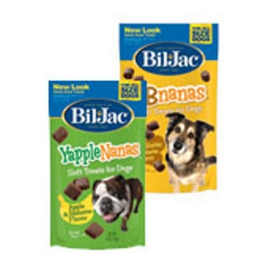 Bil-Jac Yapple-Nanas® and PB-Nanas® Dog Treats