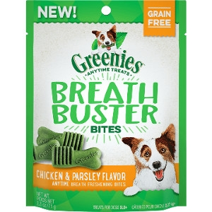 Greenies Breath Buster Bites Chicken & Parsley Flavor Dog Treats