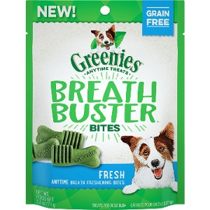 Greenies Breath Buster Bites Fresh Flavor Treats for Dogs