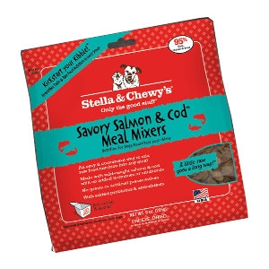 Stella & Chewy's Savory Salmon & Cod Meal Mixers 18oz