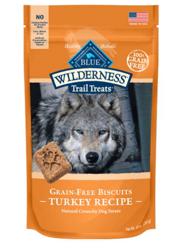 Blue Buffalo Wilderness Turkey Biscuit Dog 10OZ