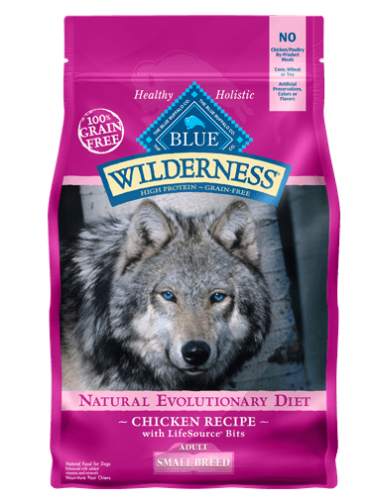 Blue Buffalo Wilderness Small Breed Chicken Dog 4.5#