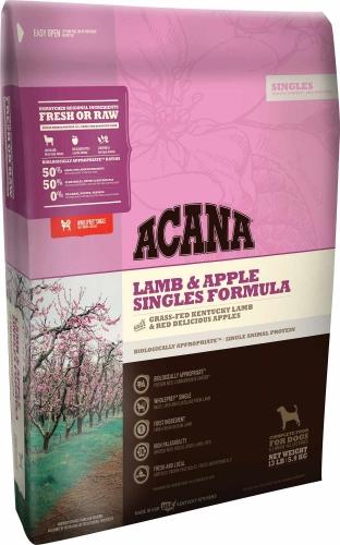 Acana Lamb & Apple Singles Formula 25lb