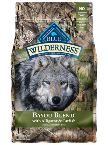 Blue Buffalo Wilderness Bayou Blend 22lb
