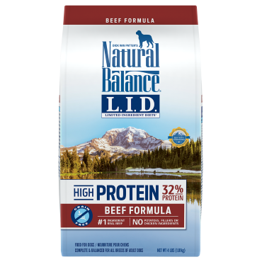 $5 off Natural Balance LID High Protein Dog Food
