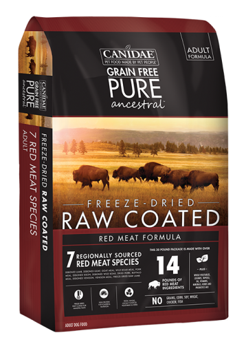 $2-$5 off Pure Ancestral Raw Coated Dog Food