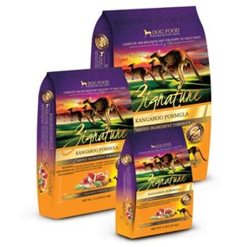 Zignature Kangaroo Formula Dry Dog Food